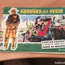 Tebeos: HAZAÑAS DEL OESTE Nº 40 (ED. TORAY) (COIM7). Lote 130811136