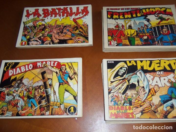 EL DIABLO DE LOS MARES--COLECCIÓN COMPLETA-- (Tebeos y Comics - Toray - Diablo de los Mares)