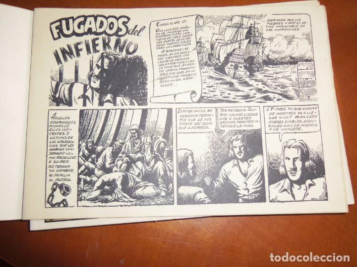 Tebeos: EL DIABLO DE LOS MARES--COLECCIÓN COMPLETA-- - Foto 5 - 130851272