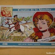 Tebeos: UENTOS DE LA ABUELITA Nº 220, EL CABALLITO BLANCO, ED. TORAY, ERCOM. Lote 131012232