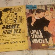 Tebeos: UNA VIDA VACIA -SALOMÉ Nº 22. EDICIONES TORAY 1962 . Lote 131030396