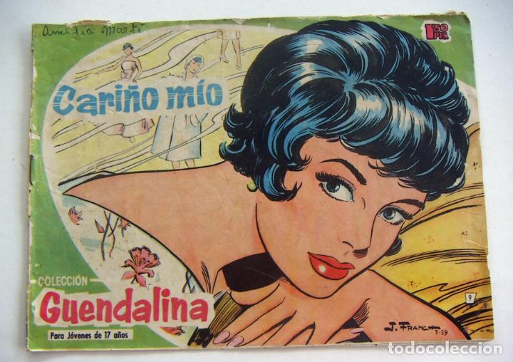 COLECCIÓN GUENDALINA Nº 9 AÑOS 50 EDICIONES TORAY (Tebeos y Comics - Toray - Guendalina)