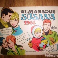 Tebeos: ALMANAQUE SUSANA 1962. Lote 131194828