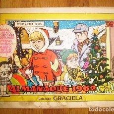 Tebeos: GRACIELA : ALMANAQUE 1962. Lote 131338610