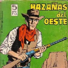 Tebeos: HAZAÑAS DEL OESTE - Nº 101 -JOSÉ DUARTE-AGRÁS-DIEGO-CORTIELLA-1965-BUENO-DIFÍCIL-LEAN-9312. Lote 131494786