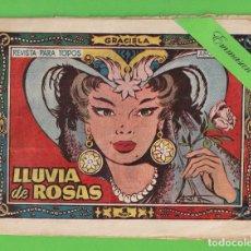 Tebeos: GRACIELA Nº 87 -LLUVIA DE ROSAS - EDICIONES TORAY. - 1 PTS. (ORIGINAL).. Lote 131496374
