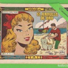 Tebeos: GRACIELA Nº 115 - EL ARQUILLA DE ORO - EDICIONES TORAY. - 1 PTS. (ORIGINAL).. Lote 131496814
