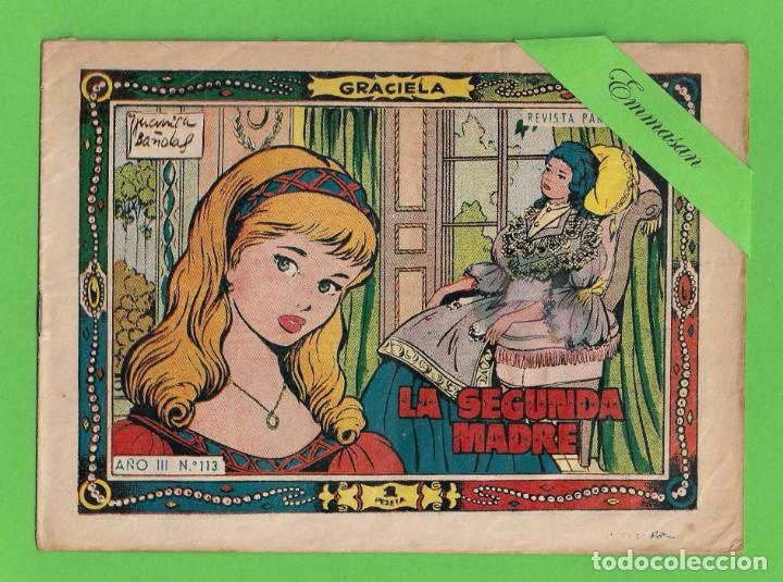 GRACIELA - Nº 113 - LA SEGUNDA MADRE - (1958) - TORAY. (Tebeos y Comics - Toray - Graciela)