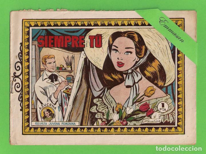 AZUCENA - Nº 23 - SIEMPRE TÚ - (1950) - TORAY. (Tebeos y Comics - Toray - Azucena)