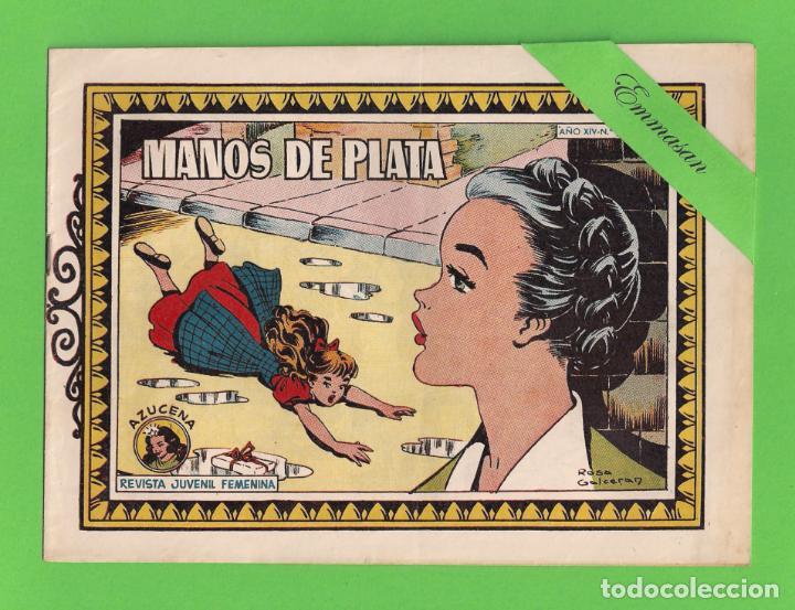 AZUCENA - Nº 587 - MANOS DE PLATA - (1950) - TORAY. (Tebeos y Comics - Toray - Azucena)