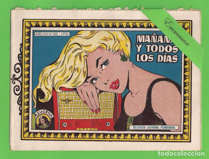 AZUCENA - Nº 652 - MAÑANA Y TODOS LOS DÍAS - (1960) - TORAY. (Tebeos y Comics - Toray - Azucena)