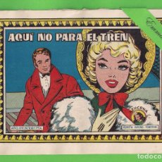 Tebeos: AZUCENA - Nº 666 - AQUÍ NO PARA EL TREN - (1960) - TORAY.. Lote 131517850