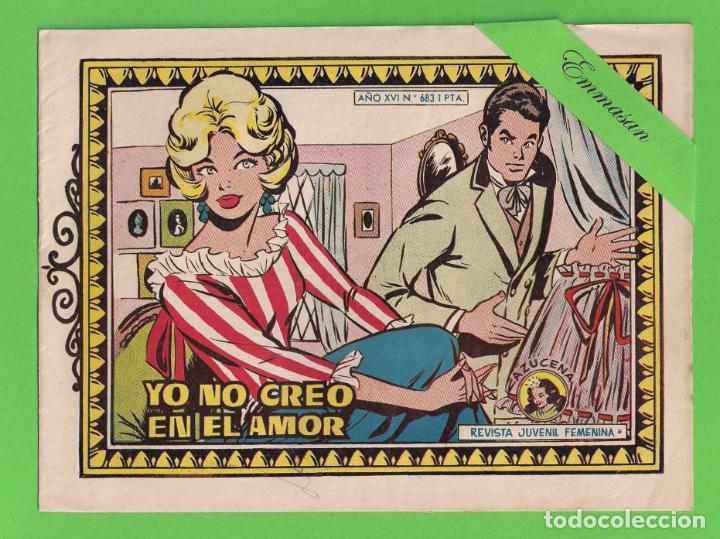 AZUCENA - Nº 683 - YO NO CREO EN EL AMOR - (1960) - TORAY. (Tebeos y Comics - Toray - Azucena)