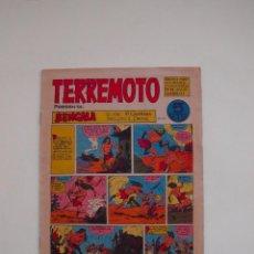 Tebeos: TERREMOTO PRESENTA: BENGALA Nº 21 - MAGA 1964 - 5 PTS.. Lote 131527270