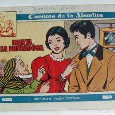 Tebeos: COLECCION CUENTOS DE LA ABUELITA MARTA LA BONDADOSA Nº 219 TORAY. Lote 131601194