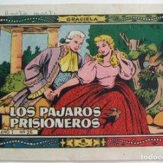Tebeos: COLECCION GRACIELA LOS PAJAROS PRISIONEROS Nº 26 TORAY. Lote 131640698
