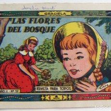 Tebeos: COLECCION GRACIELA LAS FLORES DEL BOSQUE Nº 57 TORAY. Lote 131640802