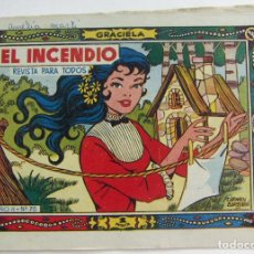 Tebeos: COLECCION GRACIELA EL INCENDIO Nº 73 TORAY. Lote 131641906