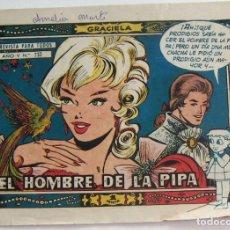 Tebeos: COLECCION GRACIELA EL HOMBRE DE LA PIPA Nº 232 TORAY. Lote 131643318