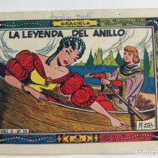 Tebeos: COLECCION GRACIELA LA LEYENDA DEL ANILLO Nº 53 TORAY. Lote 131645098