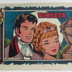 Tebeos: COLECCION ALICIA VIOLETA Nº 101 TORAY. Lote 131646950