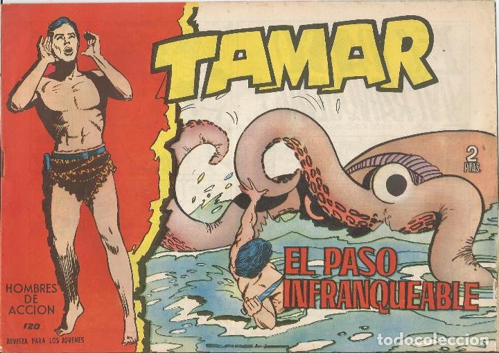 TAMAR EDICIONES TORAY Nº 120 (Tebeos y Comics - Toray - Tamar)
