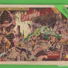 Tebeos: HAZAÑAS BÉLICAS - Nº 20 - EXTRAORDINARIO - EL SARGENTO FURIA - (1951) - TORAY.. Lote 132005606