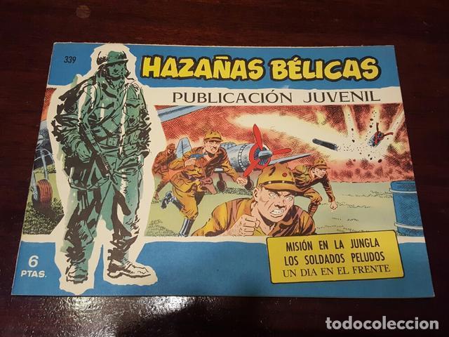 COMIC - HAZAÑAS BELICAS 339 - MUY BUEN ESTADO POR JOAN BOIX - MISIÓN EN LA JUNGLA... (Tebeos y Comics - Toray - Hazañas Bélicas)