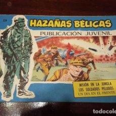 Tebeos: COMIC - HAZAÑAS BELICAS 339 - MUY BUEN ESTADO POR JOAN BOIX - MISIÓN EN LA JUNGLA.... Lote 132138622