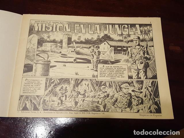 Tebeos: Comic - Hazañas belicas 339 - Muy buen estado Por Joan Boix - Misión en la jungla... - Foto 3 - 132138622