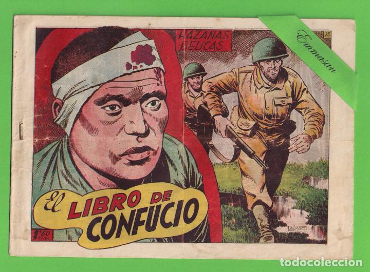 HAZAÑAS BÉLICAS - Nº 75 - EL LIBRO DE CONFUCIO - (1953) - TORAY. (Tebeos y Comics - Toray - Hazañas Bélicas)