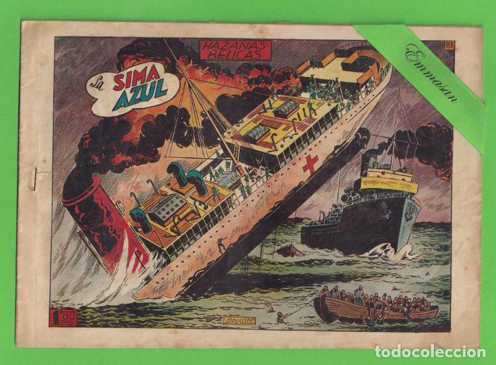 HAZAÑAS BELICAS - Nº 83 - LA SIMA AZUL - (1953) - TORAY. (Tebeos y Comics - Toray - Hazañas Bélicas)