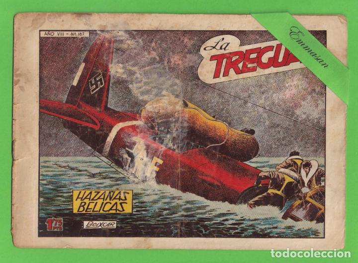 HAZAÑAS BÉLICAS - Nº 187 - LA TREGUA - (1957) - TORAY. (Tebeos y Comics - Toray - Hazañas Bélicas)