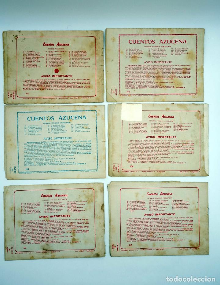 Tebeos: AZUCENA 1 A 844. GRAN LOTE DE 677+46 NºS. VER LISTA (Ana María / Maite) Toray, 1958 - Foto 18 - 132262767