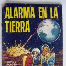 Tebeos: COMIC ALARMA EN LA TIERRA Nº 5 ROBOT 76 NOVELA GRAFICA DE ADULTOS TORAY 1967 USADO. Lote 132309938