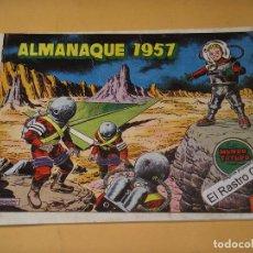 Tebeos: MUNDO FUTURO ALMANAQUE 1957, ORIGINAL, ED. TORAY, ERCOM. Lote 132348018