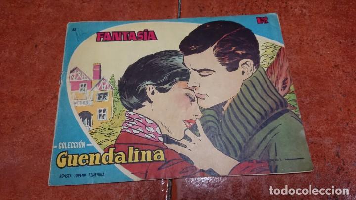 CÓMIC REVISTA COLECCIÓN GUENDALINA N° 63 - FANTASÍA (Tebeos y Comics - Toray - Guendalina)