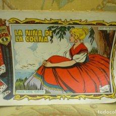 Tebeos: COLECCIÓN ALICIA Nº 165: LA NIÑA DE LA COLINA. TORAY 1.958. DIBUJOS DE MAITE.. Lote 132520674