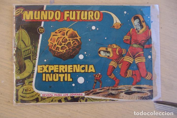 Tebeos: lote mundo futuro, 100 nº, fotos individual de 104 incluido los almanaques - Foto 14 - 132716850