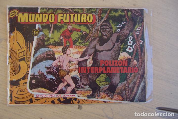 Tebeos: lote mundo futuro, 100 nº, fotos individual de 104 incluido los almanaques - Foto 20 - 132716850