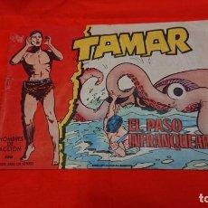 Tebeos: ANTIGUO TEBEO CÓMIC TAMAR - EL PASO INFRANQUEABLE - HOMBRES DE ACTION - TORAY . Lote 132737562