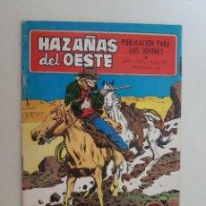 Tebeos: HAZAÑAS DEL OESTE. Nº 148. TORAY.. Lote 132822978