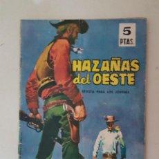 Tebeos: HAZAÑAS DEL OESTE. Nº 69. TORAY.. Lote 132823262