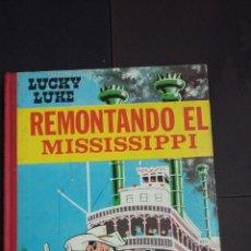 Tebeos: LUCKY LUKE - REMONTANDO EL MISSISSIPPI - EDICIONES TORAY - 1ª EDICIÓN 1968. Lote 133019210