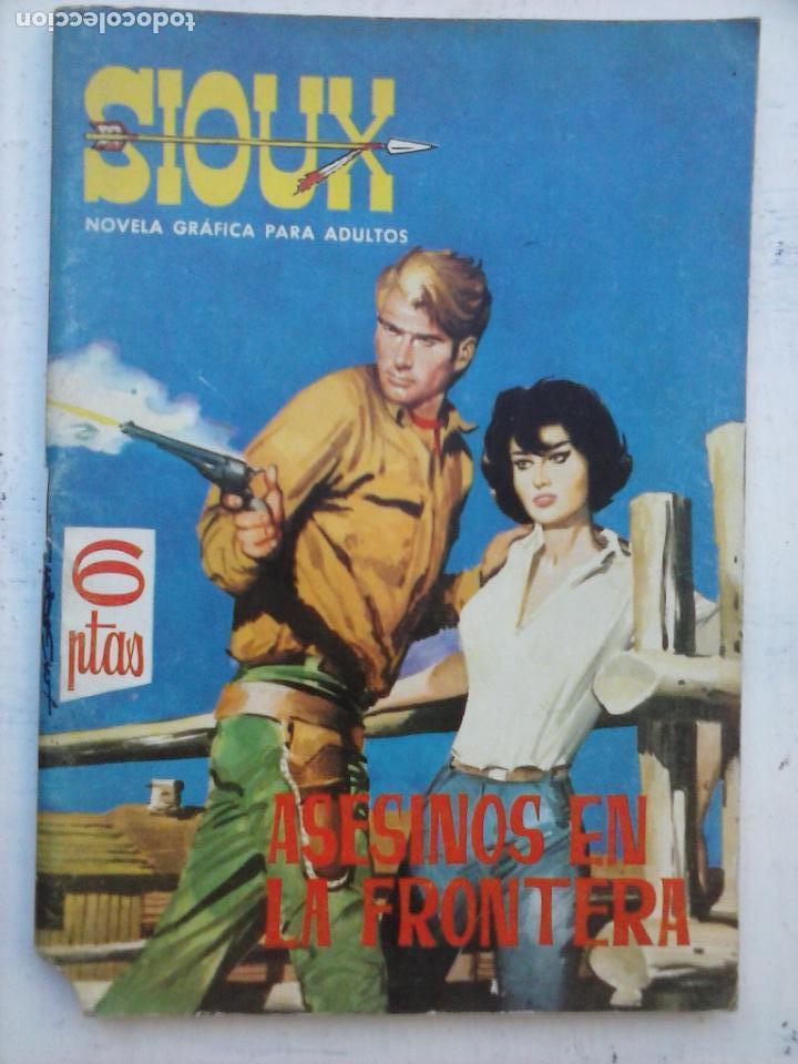 SIOUX Nº 2 MIPECABLE Y MUY DIFÍCIL - 1964 TORAY - CARRIÓN DIBUJOS - 64 PGS (Tebeos y Comics - Toray - Sioux)
