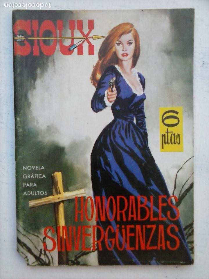 SIOUX Nº 3 - IMPECABLE DIFICIL - DUARTE DIBUNOS - 1964 TORAY - 64 PGS - 17 X 12 CMS. (Tebeos y Comics - Toray - Sioux)