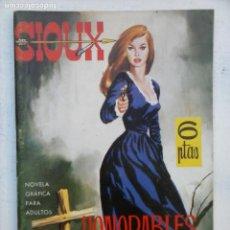 Tebeos: SIOUX Nº 3 - IMPECABLE DIFICIL - DUARTE DIBUNOS - 1964 TORAY - 64 PGS - 17 X 12 CMS.. Lote 133054790