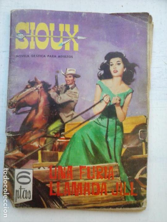 SIOUX Nº 6 - 1964 TORAY - 17 X 12 CMS - 64 PGS (Tebeos y Comics - Toray - Sioux)