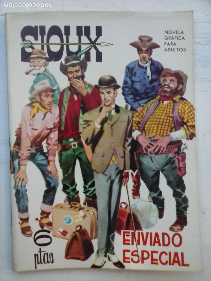 SIOUX Nº 10 - IMPECABLE Y DIFÍCIL - 17 X 12 CMS - TORAY 1964 (Tebeos y Comics - Toray - Sioux)