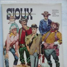 Tebeos: SIOUX Nº 10 - IMPECABLE Y DIFÍCIL - 17 X 12 CMS - TORAY 1964. Lote 133055070